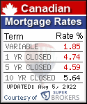 Canadian Mortgage Rates Toronto Ontario